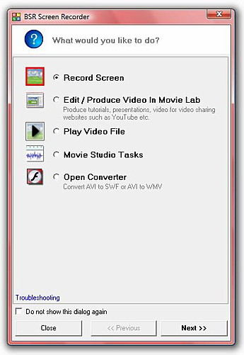 BSR Screen Recorder 4 To Do