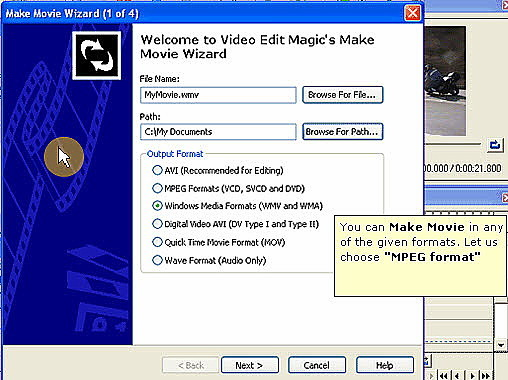 Video Edit Magic Make Movie Wizard