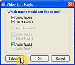 Video Edit Magic Track Cut