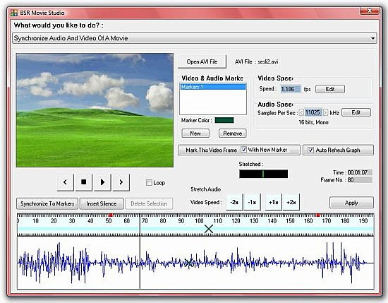BSR Screen Recorder 4 Movie Studio Video